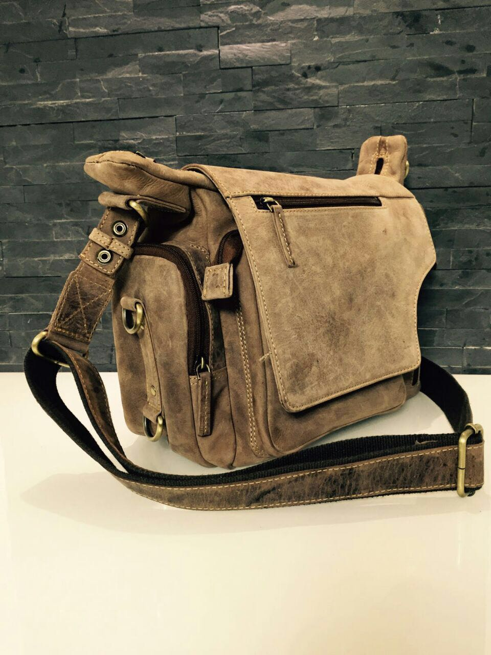 customised leather bags